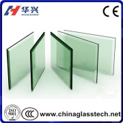 CE curved or flat 6mm tempered glass