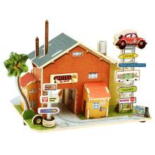 Juguetes de coleccionables de madera para casas globales-American Motor Inns