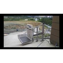 Rolltreppenlift für Behinderte / Personenaufzug im Außenbereich