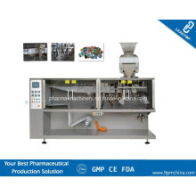 Horizontal Form Fill and Seal Pouch Machine for Pharmaceutical Products