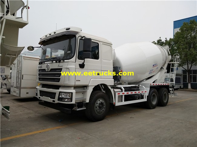 SHACMAN 12 Wheeler Concrete Transport Trucks