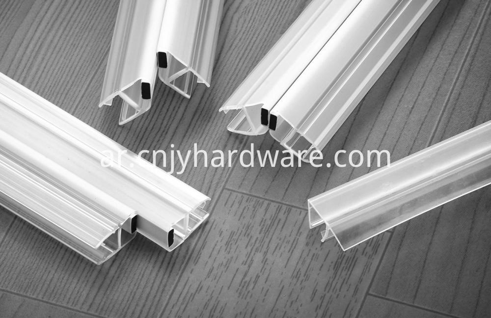 90 degree Magnetic Bathroom Pvc Waterproof Seal Strip