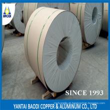 Bobina de alumínio para isolamento de tubulação