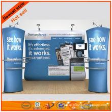 Stand de exposición portátil de diseño personalizado nuevo diseño de Shanghai