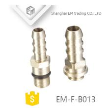 EM-F-B013 Chromiertes Pagota-Kopfgewinde Messing-Adapterrohrfitting