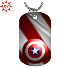 Bijoux Personalized Dog Tag Red Silver Pets Tag Pendants