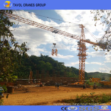 16ton Qtz160-7040 Top Kits Tower Crane Construction Tower Cranes