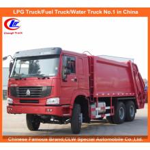 Heavy Duty Sinotruk Sino LKW HOWO Komprimierte Müllwagen 8tons zum Verkauf
