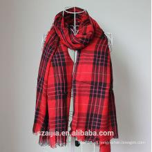 Moda damas Viscose verificado bufanda