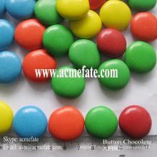 Круглая шоколадная конфета