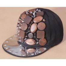 2013 heißen Verkauf Rock Tänzerin Punk Hiphop Snapback Cap Hut benutzerdefinierte
