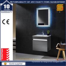 Moderne Melamin-MDF-LED-helle Badezimmer-Eitelkeit-Badezimmer-Möbel