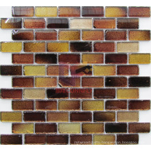 Cool Paving Glossy Crystal Antique Style Glass Mosaic (CFC618)