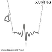 necklace-00284 collier de bijoux de mode fait main acier inoxydable bat collier de bijoux