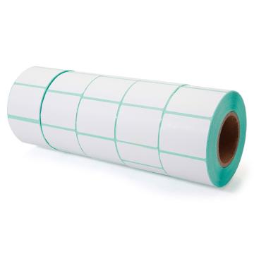 NX047 Custom Waterproof Adhesive Packaging Polyester Sticker Label