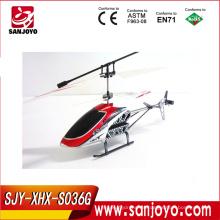 Juguetes teledirigidos del helicóptero del juego de China RC Toy S036G 2CH al por mayor