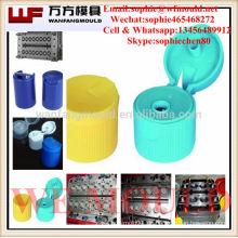 Zhejiang Taizhou Hochwertige Kunststoff-Spritzgussform für Flip-Flaschenverschluss / Kunststoff-Spritzgussform für Mineralwasser-Kappe