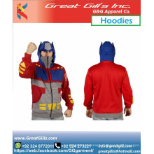 Animated Sublimation Superheros design hoodie with full zipper sale