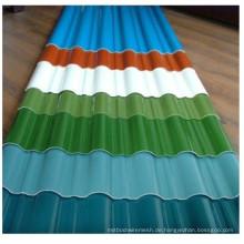 Witterungsbeständiges, vorlackiertes Metall-Stahl-Dachblech