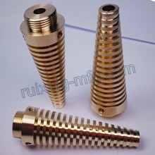 Custom-Made Machining Brass Heatsink for Lighting