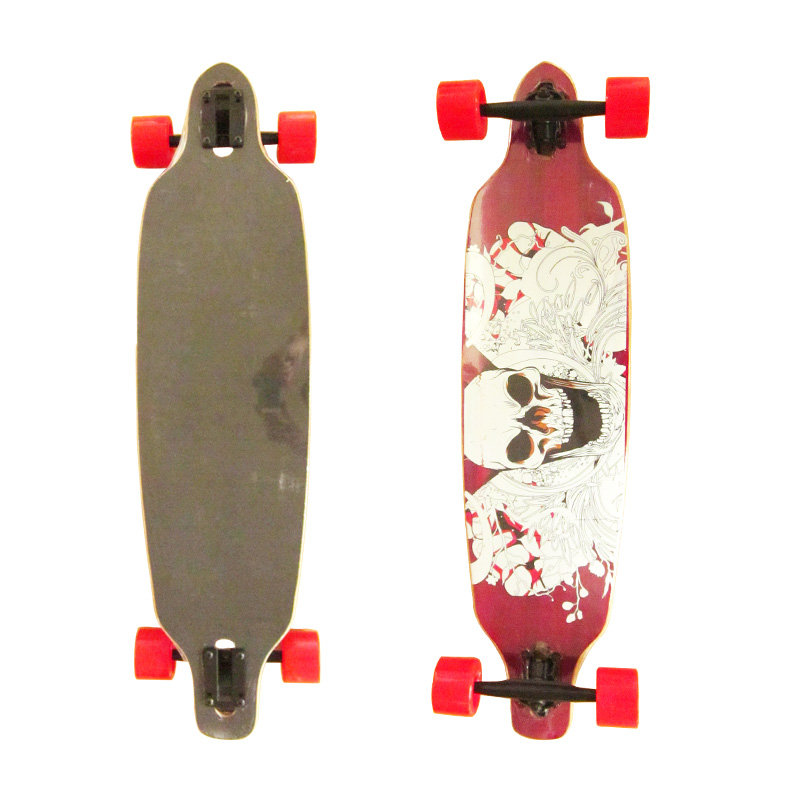 Bamboo and Maple Complete Cruiser Long Skateboard