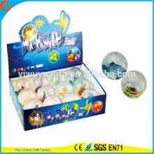 Hot Sell Kids'Gift LED fLASHINGRubber 75mm Turtle Light-up Bouncy Ball
