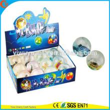 Горячая распродажа дети'Gift СИД fLASHINGRubber 75мм Черепаха свет вверх надувной мяч