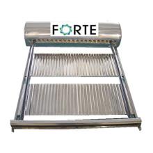 Colector solar de 30 tubos, gran cabezal
