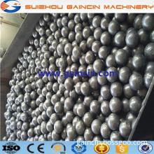 automatical casting chrome grinding media steel balls, high efficiency casting steel balls, casting chrome steel balls