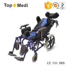 Topmedi Reclining High Back Wheelchair for Cerebral Palsy Children
