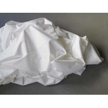 modern white plain color polyester thin printed bed sheets