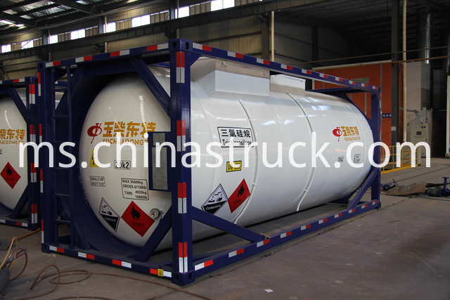 20FT ISO Acid Tank Container