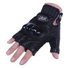 Guantes para motociclistas promocionales, medias casquillos masculinos que montan los guantes de cuero de la motocicleta