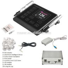 Biomaser Eyebrow Tattoo Machine de maquillage permanente, kit de maquillage semi-permanent, Micropigmentation Tattoo Gun Digital Panel