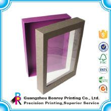 Nettes schauendes und empfindliches Verpackenpvc-Fenster bereiten Papierkasten auf