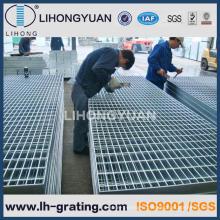 Galvanisé à chaud en acier caillebotis pour plate-forme de Structure métallique