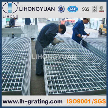 Reja de la barra de acero galvanizado para empresa de ISO CCC
