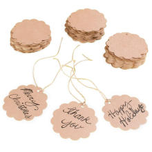 Custom Tag Gift Tags with Jute Twines String