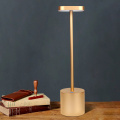 Wiederaufladbare kabellose LED-Tischlampe