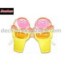 lunettes de fête de plage crème glacée