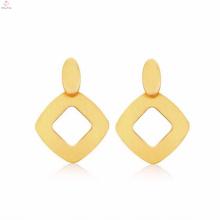 Boucle d'oreille plaquée par or de forme spéciale chinoise bon marché pour la fille