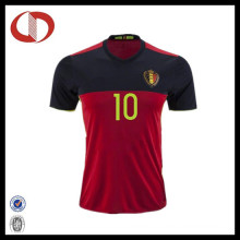 Best Selling Wholesale Mans Soccer Jersey with Number Printing