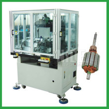 Automatic rotor commutator hook fusing machine