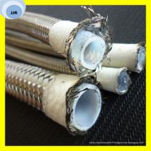 Tuyau flexible de tuyau de tuyau résistant à la chaleur de tuyau de R14 de tuyau de PTFE