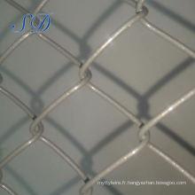 Clôture temporaire de maille de maillon amovible de chaîne facile à manipuler