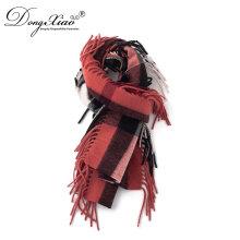 Großhandel Kaschmir Schals Hut Set in loser Schüttung 100% reine Kaschmir Mode Schal für Herren