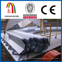 Gilvanized steel panels Screw joint arch steel building