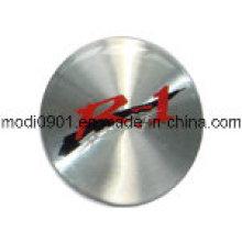 2015 Custom Factory Price Metal Stickers Embossed Labels Aluminum Logo Metal Logo