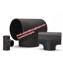 ASME B16.9 Mild steel pipe fittings reducing tee