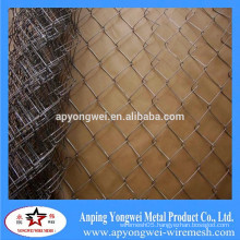 YW-Factory Hot Sale Galvanized Chain Link Fence